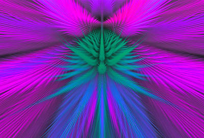 Digital Art - Fractal 38 by Sandy Keeton
