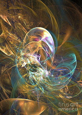 Digital Art - Fractal Art - In The Shelter Of A Virgin Forest by Sipo Liimatainen