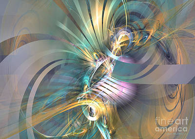 Digital Art - Fractal Art - Inspiration by Sipo Liimatainen