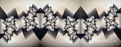 Ivory Carving Digital Art - Fractal Carving by Ron Bissett