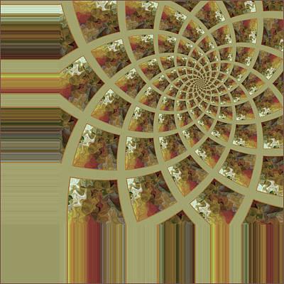 Digital Art - Fractal Fleur by Bonnie Bruno