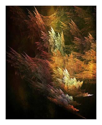 Digital Art - Fractal Forest by Bonnie Bruno