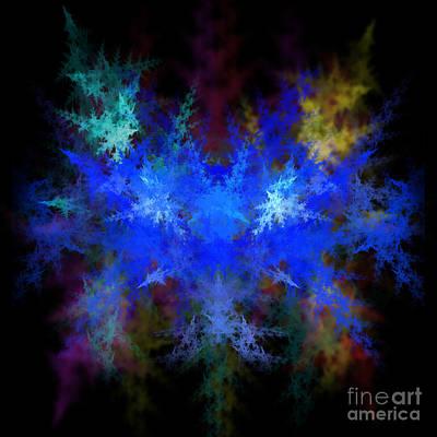 Fractal Geometry Digital Art - Fractal by Henrik Lehnerer