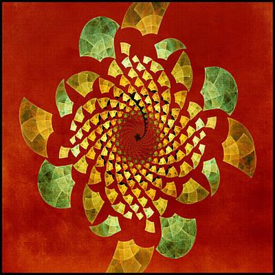Digital Art - Fractal Twirl by Bonnie Bruno
