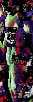 Painting - Fragmented Soul Print by Robert D McBain