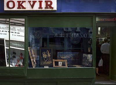 Photograph - Framer. Belgrade. Serbia by Juan Carlos Ferro Duque
