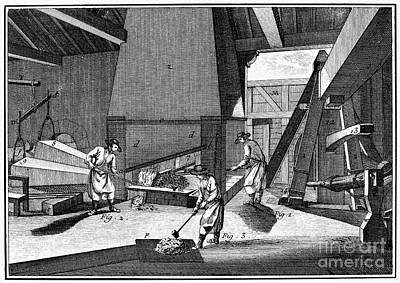 Ironworkers Photograph - France: Iron Forge, C1750 by Granger