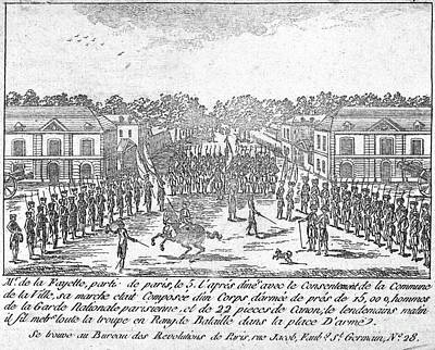 France: National Guard Print by Granger
