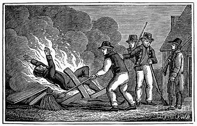 France: Persecution, 1815 Art Print by Granger