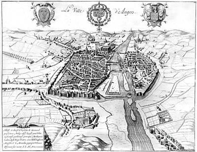 France: Walled City, 1688 Art Print by Granger