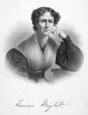 Frances Wright (1795-1852) Art Print by Granger