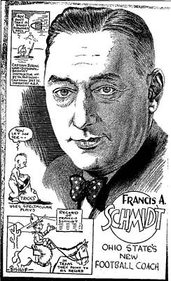 Francis A. Schmidt Art Print by Steve Bishop