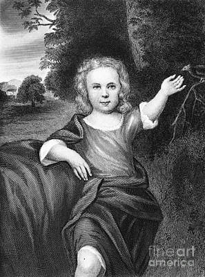 Francis Folger Franklin Art Print by Granger