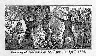 Antislavery Photograph - Francis L. Mcintosh, A Free Mulatto by Everett