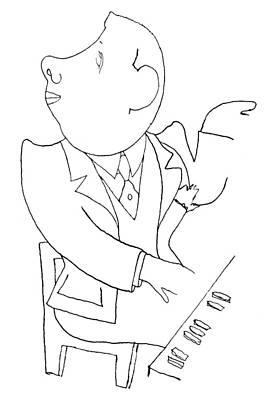 Francis Poulenc (1899-1963) Print by Granger