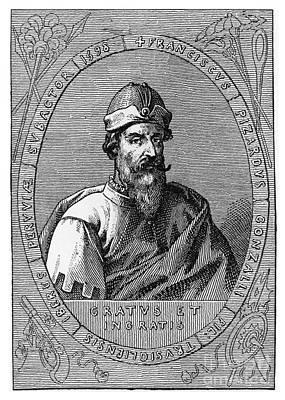 Colonial Man Photograph - Francisco Pizarro, Spanish Conquistador by Photo Researchers