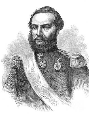 Francisco Solano Lopez Art Print by Granger