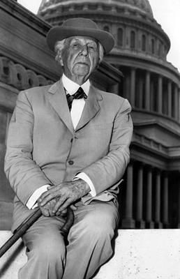 Frank Lloyd Wright 1867-1959, Prominent Print by Everett
