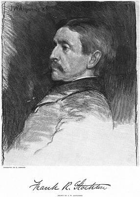 Frank R. Stockton Art Print by Granger