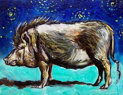 Painting - Frank by Sheila Tajima