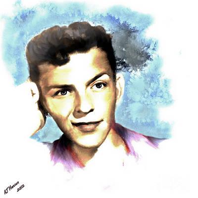 Legend Photograph - Frank Sinatra by Arne Hansen