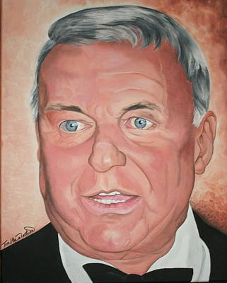 Portraits By Timothe Painting - Frank Sinatra by Timothe Winstead