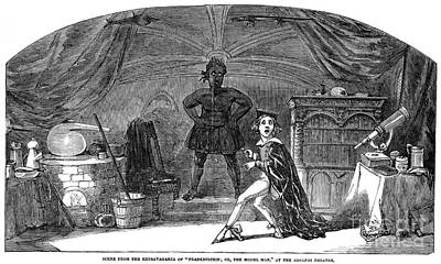 Photograph - Frankenstein by Granger