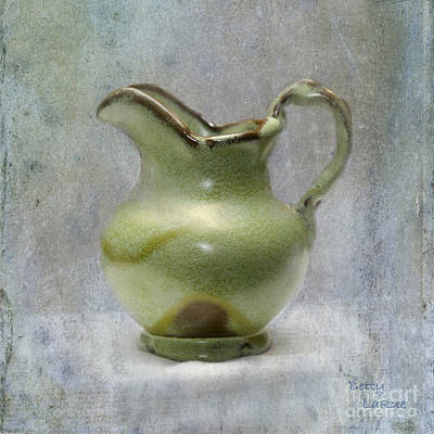 Frankhoma Pitcher Art Print by Betty LaRue