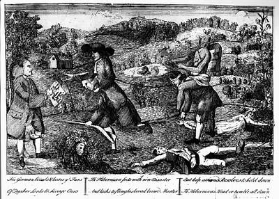 Franklin: Cartoon, 1764 Art Print