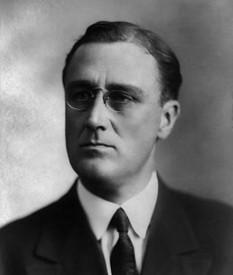 Franklin Delano Roosevelt Art Print by International  Images