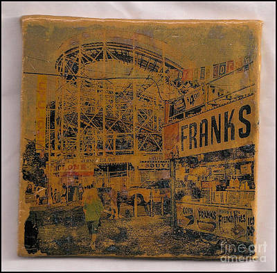 Mixed Media - Franks by Ruby Cross