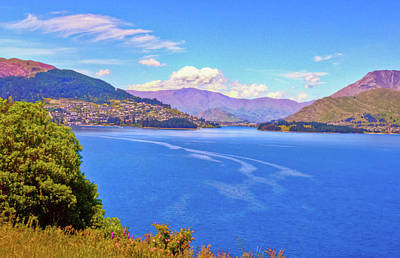 Photograph - Frankton Arm Lake Wakatipu by Harry Strharsky