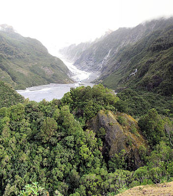 Photograph - Franz Josef Glacier Nz 2 by C H Apperson