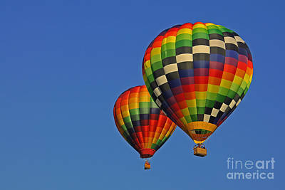 Photograph - Fraternal Twin Balloons by Benanne Stiens