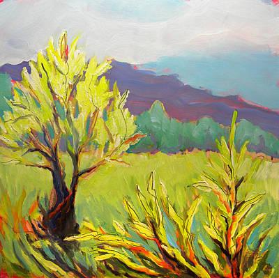 Frazier Wetland 2 Print by Pam Van Londen