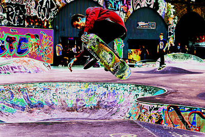 Freaky Styley Print by Urban Shooters