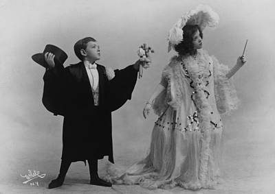 Adele Photograph - Fred Astaire 1899-1987, With His Older by Everett