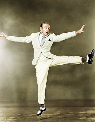 Fred Astaire, Ca. 1930s Print by Everett