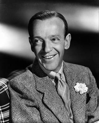 Fred Astaire, Ca. 1940s Print by Everett