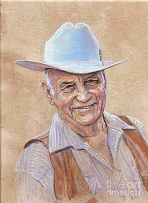 Fred Oldfield Painting - Fred Oldfield by LeRoy Jesfield