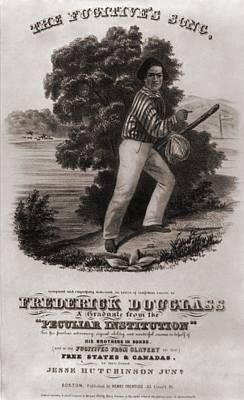 Frederick Douglass 1818-1895 Art Print by Everett