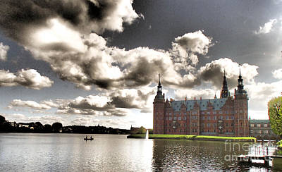 Photograph - Frederikborg Slot by Michael Canning