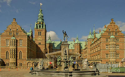 Photograph - Frederiksborg Slot by Michael Canning