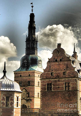 Photograph - Frederiksborg Slot Tower by Michael Canning