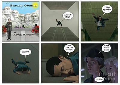 Obama 2012 Digital Art - Free Your Mind IIi by Kevin  Marley