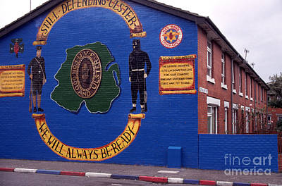 Freedom Corner Mural Belfast Northern Ireland Art Print