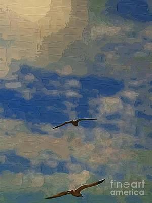 Freedom Flying Art Print by Deborah MacQuarrie-Selib