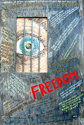 Freedom Original by Ian  MacDonald
