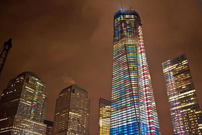 Photograph - Freedom Tower - December 2011 by Theodore Jones