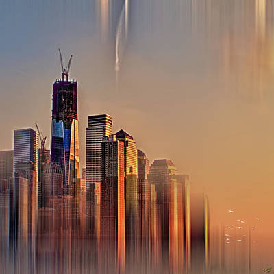 Digital Art - Freedom Tower Fantasy by Chris Lord